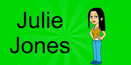 Julie Jones Title Card