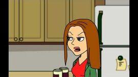 Kendra makes an obscene mess