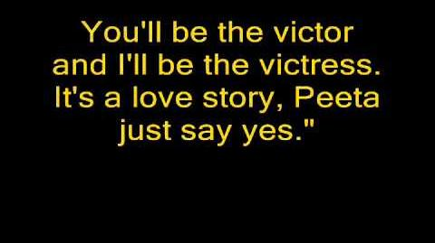 Love Story Hunger Games Cover of Love Story by Taylor Swift