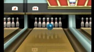 Wii Sports Resort- Bowling A Perfect Game