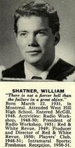 William shatner 1952