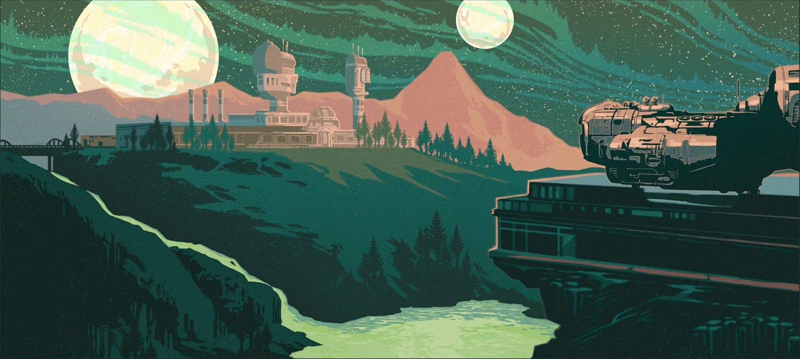 Emerald Vale The Outer Worlds Wiki Fandom