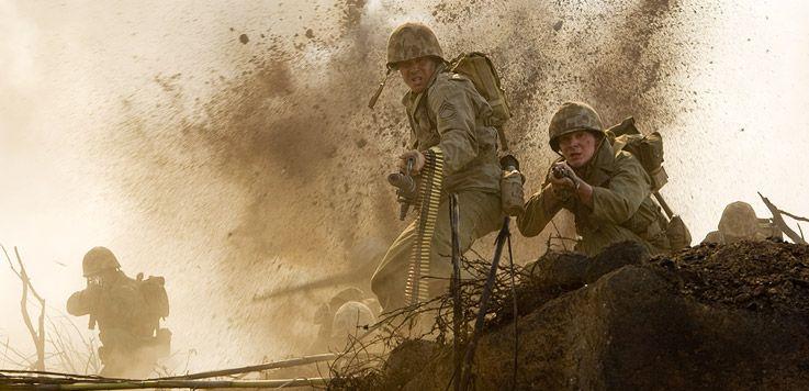 John Basilone In Iwo Jima