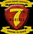 200px-USMC - 7th Marine Regiment New Logo
