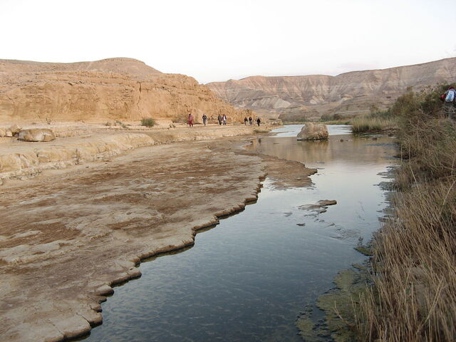 File:1280px-River in the negev desert, israel.jpg