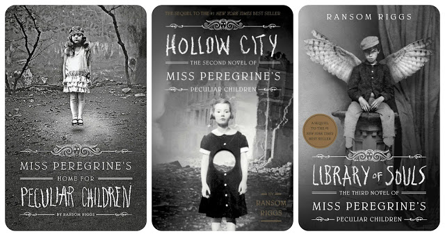 Image result for miss peregrine's home for peculiar children series