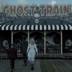 Ghost Train entrance