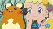 Bonnie with the Dedenne