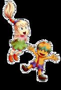Kirby brotherly sth humanoid fumu and bun by chivi chivik-d6tazb1