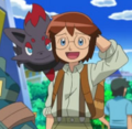 Luke and Zorua