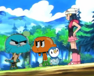 Gumball Angey with Dawn