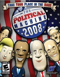The Political Machine 2008 cover
