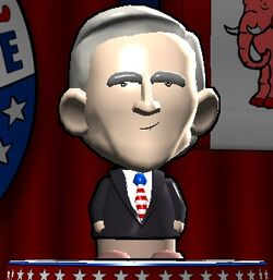 George W. Bush in The Political Machine 2008
