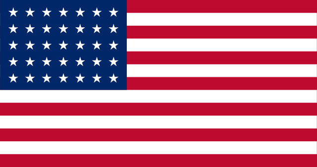 File:Flag of the United States 1863.png