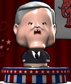 Newt Gingrich in The Political Machine 2012