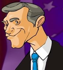 George W. Bush in The Political Machine