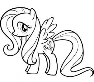 filehow to draw fluttershy my little pony