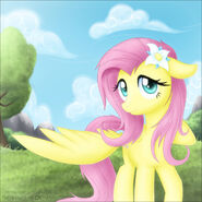 Pony Morning , Fluttershy