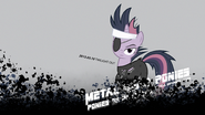 Metal Gear Ponies Ponies Of Patriots Wallpaper by mackaged
