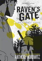 Raven's Gate - The Graphic Novel Cover 2013 Edition