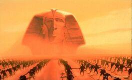 Seti I sphinx