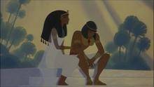 Tuya comforting Moses