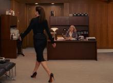 Margaret ignores secretary