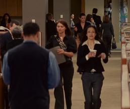 Employees running away