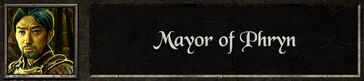 Mayor phryn