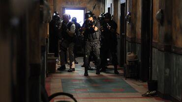 The raid squad