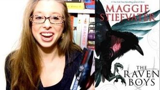 THE RAVEN BOYS BY MAGGIE STIEFVATER booktalk with XTINEMAY