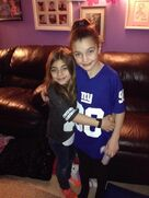 Milania and Gabriella Giudice