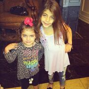 Milania and Audriana Giudice