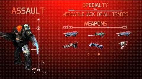 The Red Solstice - Assault Suit Overview