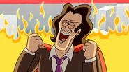 S4E20.151 Shinehara Laughing Behind Fire