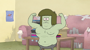 S5E11.089 Muscle Man Posing Montage 05