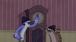 S5E20.020 Setting the Grandfather Clock Wrong