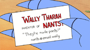 S6E13.124 Wally Tharah's Business Card