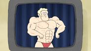 S5E11.090 Bodybuilding Poses on Tape 04