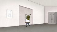 S7E25.185 Muscle Man Banging on the Door