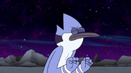 S8E19.088 Mordecai with His Eyes Closed