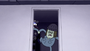 S4E23.051 Muscle Man Kicking Down the Door