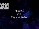 That's My Television