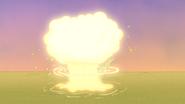 S6E15.244 The Police Car Explodes