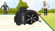 S7E03.023 The Lawnmower Tipped Over
