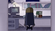 S7E25.082 Muscle Man Working Overnight