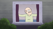 S4E30.067 A Man Looking Out His Window