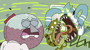 S6E04.164 Ghost Mordecai and Rigby Wrapping Their Tongues Together