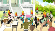 S6E22.196 People Taking Pictures of the Guys