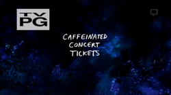 Caffeinated concert title